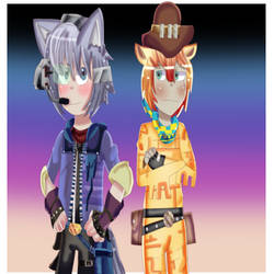 Folf And Dillion  Human Ver gift for JohnXGin3