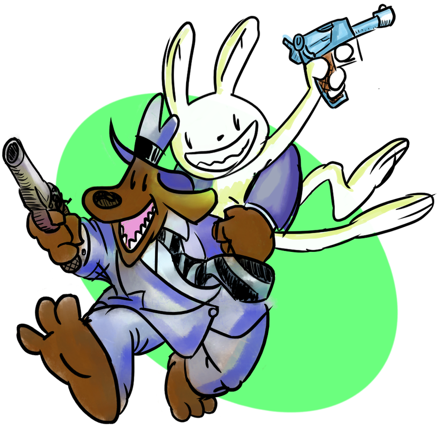 Sam And Max.. by LudvickToba