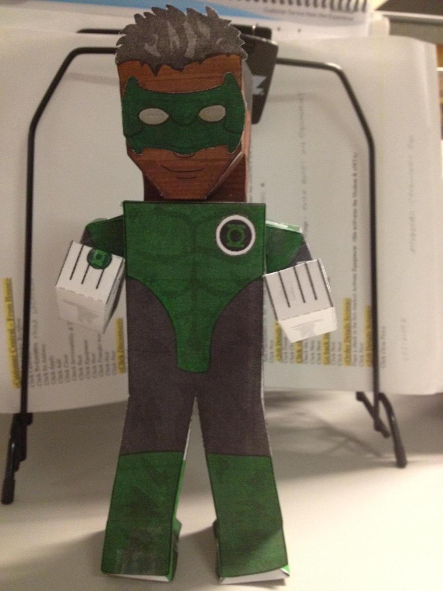 Green Lantern by statenjp