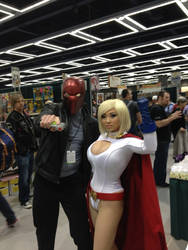 Red Hood and Powergirl