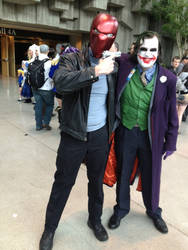 Red Hood and Joker