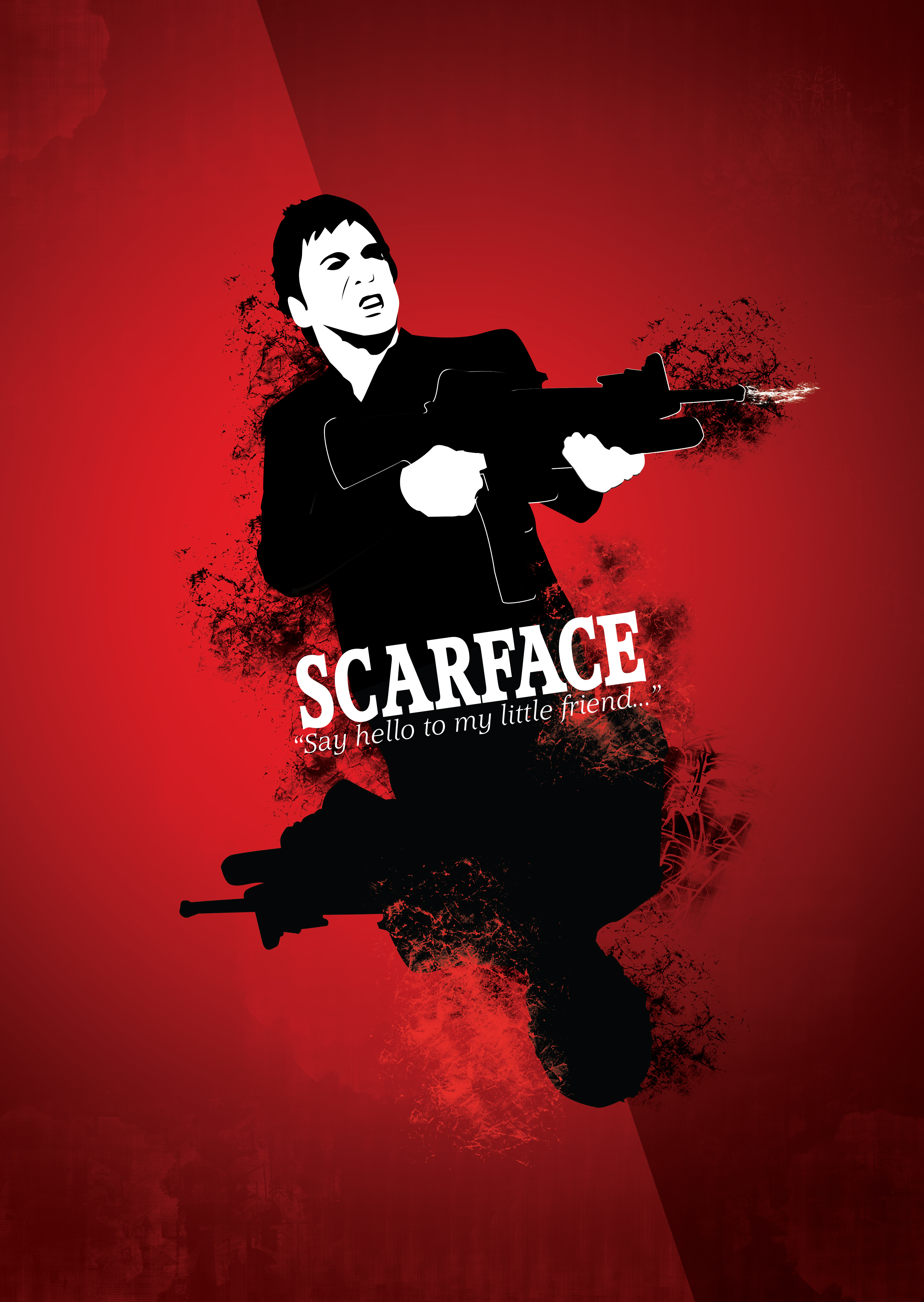 Scarface Wallpaper Say Hello To My Little Friend