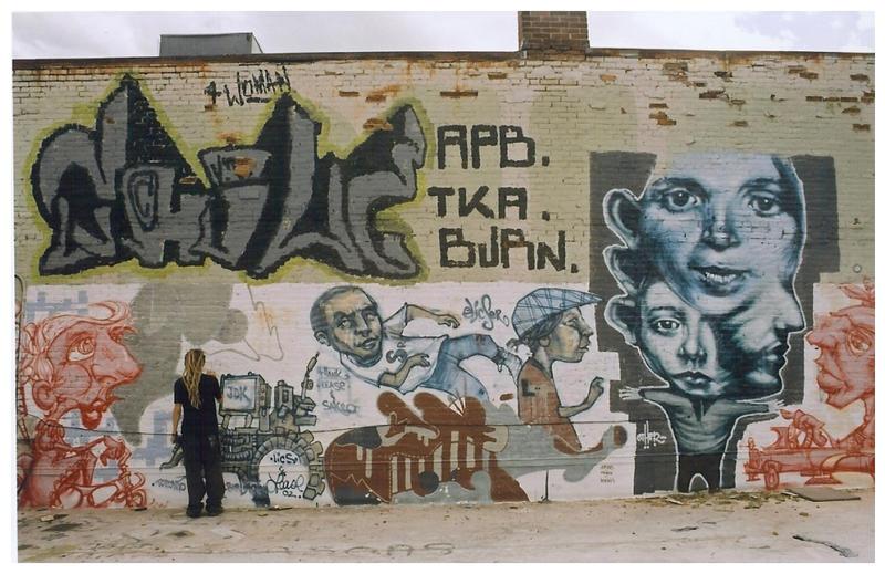graffiti by littlefaith