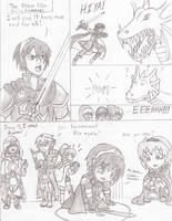 [FEH 4-Koma] #6: The Other Side During Summons by Willanator93