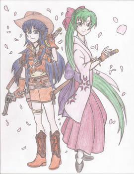 Fire Emblem/Sakura Wars Crossover Lucina and Lyn
