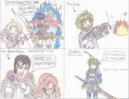 [FEH 4Koma] #54: Second Tempest Trial Team by Willanator93