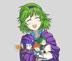 Nino with mini FE7 Lords
