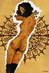inspried by Egon Schiele