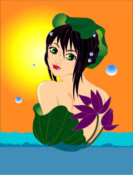 water lily illstrator edited