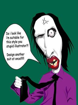 Manson caricature