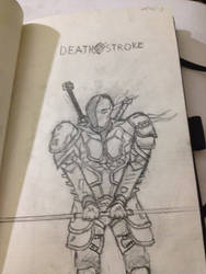 Deathstroke by armoredprimate