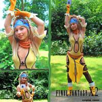 Lady Luck Rikku cosplay