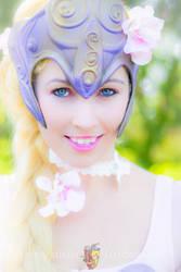 Warrior Rapunzel Portrait