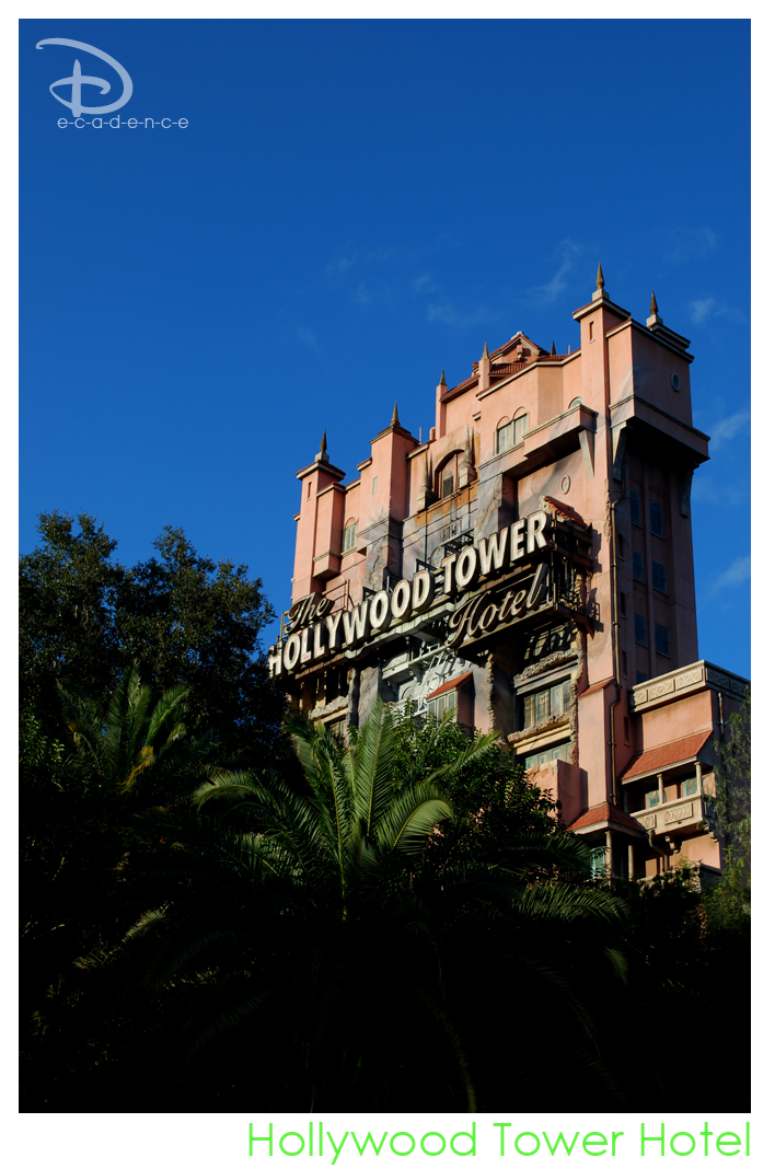 Hollywood Tower Hotel by LifeWithARedhead