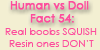 Human vs Doll: Fact 54 by LifeWithARedhead