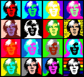 Andy Warhol by Mavismz