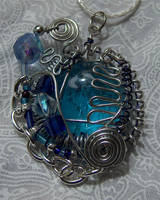 Wire pendant 163 by Kimantha333