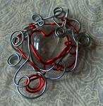 wire pendant 186