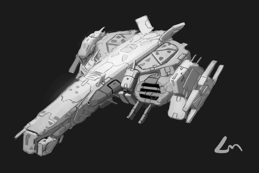 frigate by Zhangx