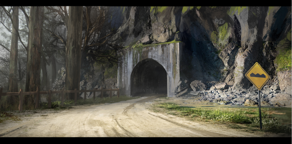 Tunnel 2 by Zhangx