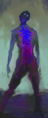 Neon Zombie
