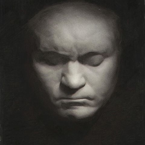 Beethoven Cast Drawing by TristanBerndtArt