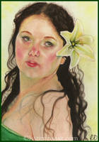 Waterlily Beauty by Katerina-Art