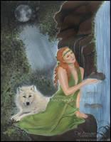 Moonlight Serenity by Katerina-Art