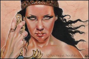 Goddess by Katerina-Art
