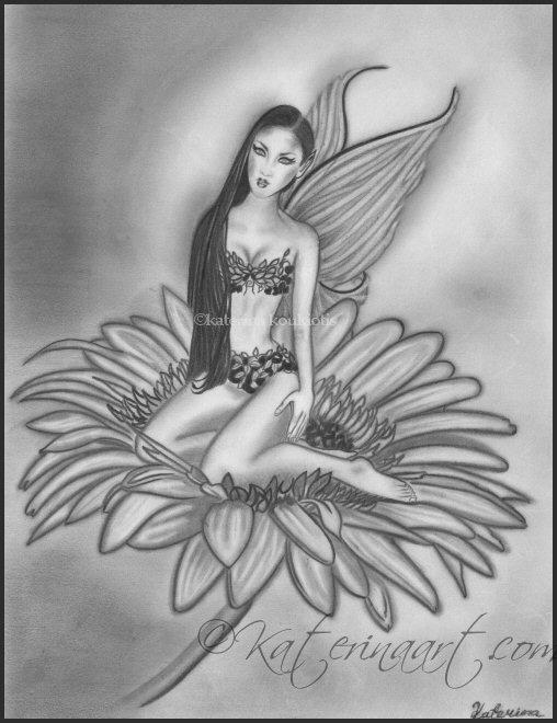 Brilliant Fairy On Flo...