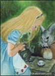 Alice in Wonderland ACEO