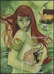 Mermaid's Treasure ACEO