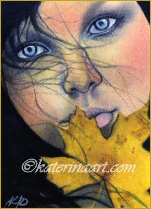 Samhain Beauty by Katerina-Art