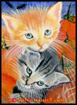 Halloween Critters  ACEO