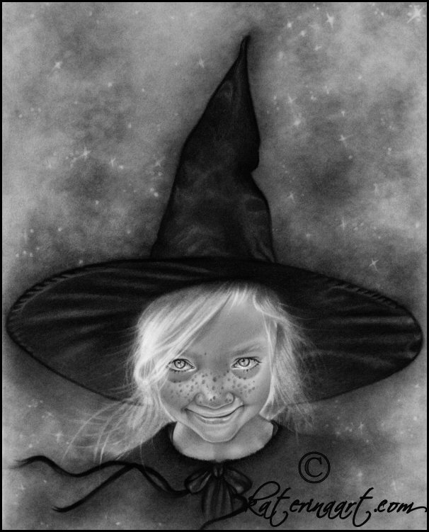 Little Witch by Katerina-Art
