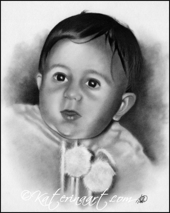 Baby Chris by Katerina-Art