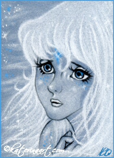 Lady Amalthea ACEO by Katerina-Art