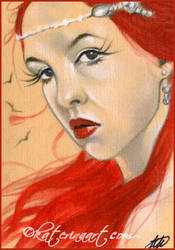 Wait ..what  SKETCH FEST ACEO by Katerina-Art