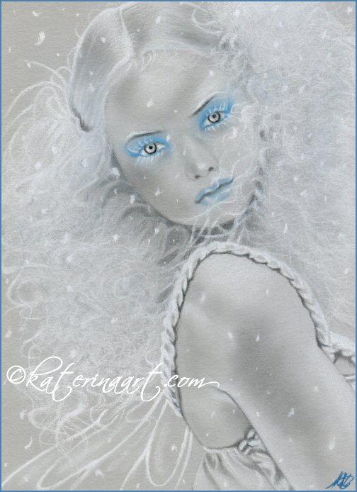 Snowflake Fairy by Katerina-Art