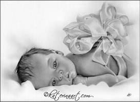 Newborn Gift by Katerina-Art