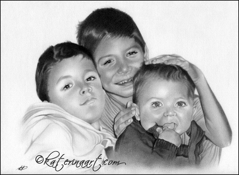 Three Brothers by Katerina-Art