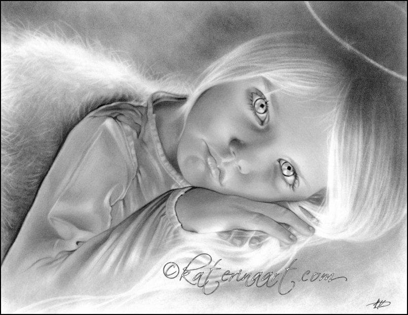 Heaven's Little Angel by Katerina-Art