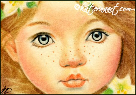Easter Fairy ACEO by Katerina-Art