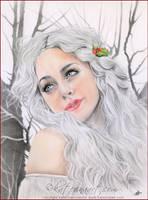 White Christmas by Katerina-Art