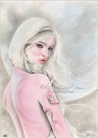 Moon Goddess Selene by Katerina-Art