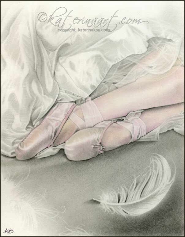 Dance of the Swan by Katerina-Art