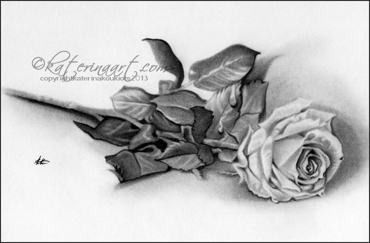 Remembrance Rose by Katerina-Art