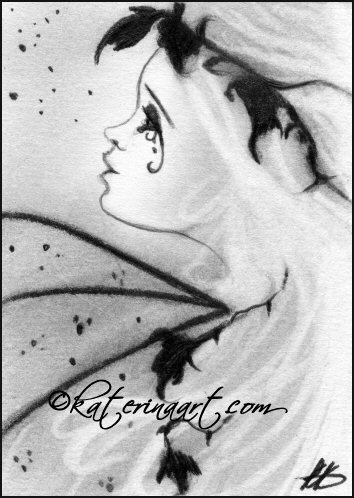 In the twilight i hear things -sketch by Katerina-Art