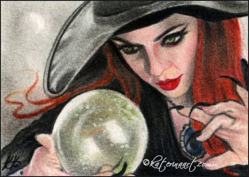 Witching Spell -ACEO