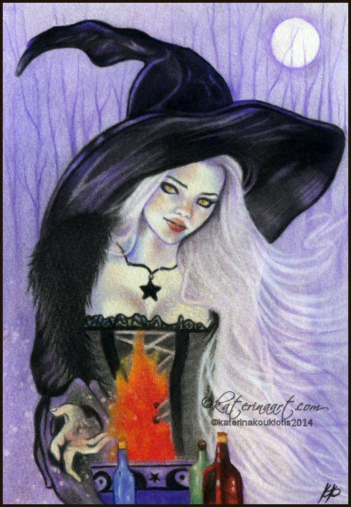 Witch's Brew by Katerina-Art